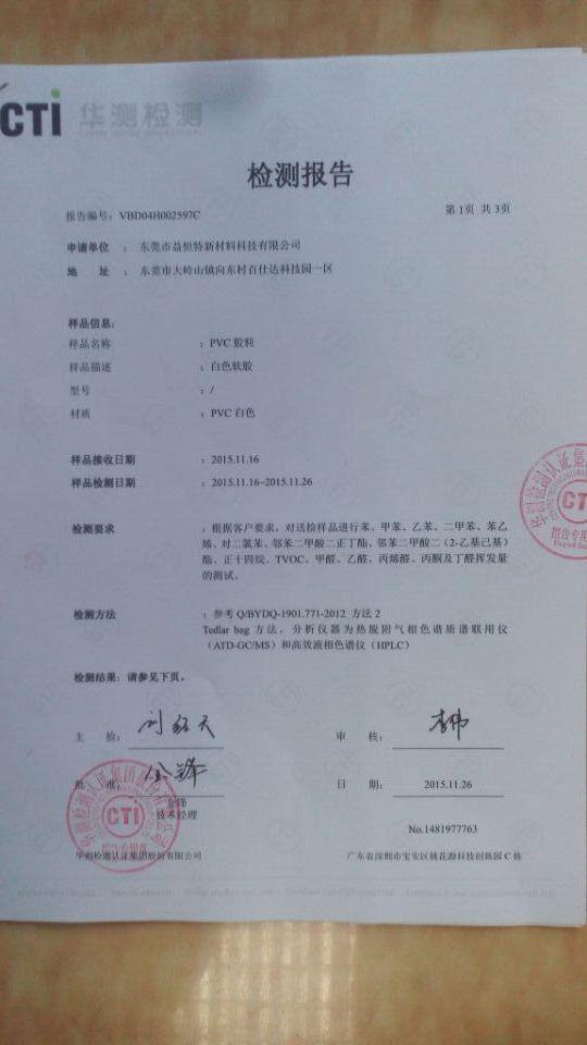 VOC测试报告中文版